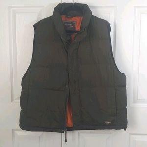 Eddie Bauer XXL Weatheredge Goose Down Filled Vest